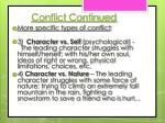 conflict continued2