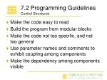 7 2 programming guidelines control structures
