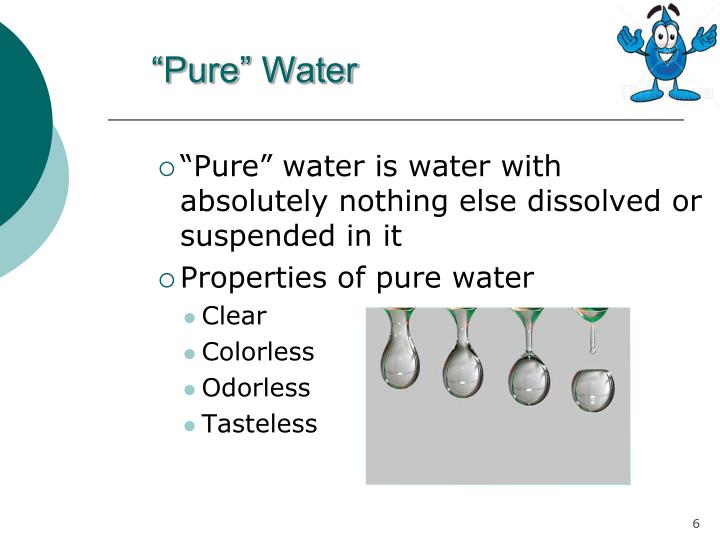 """Pure"" Water"