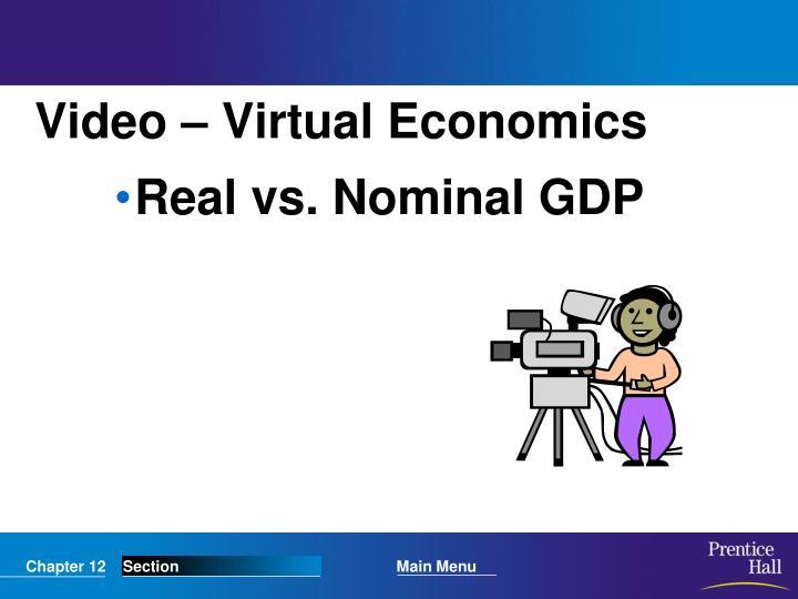 Video – Virtual Economics