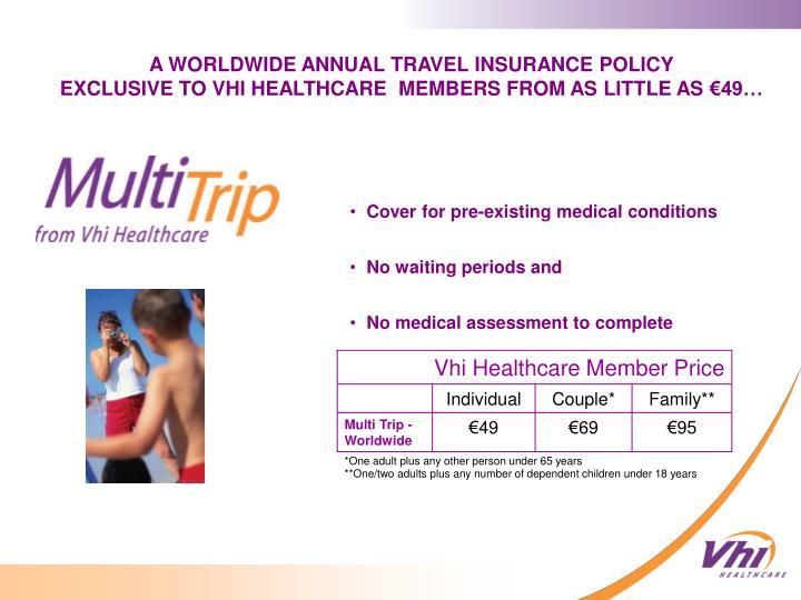 Vhi Healthcare Member Price