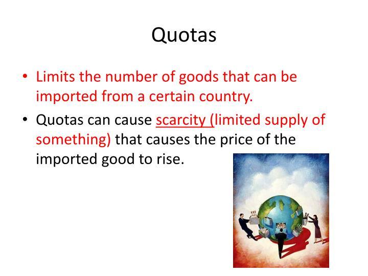 Quotas