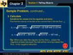 sample problem continued5