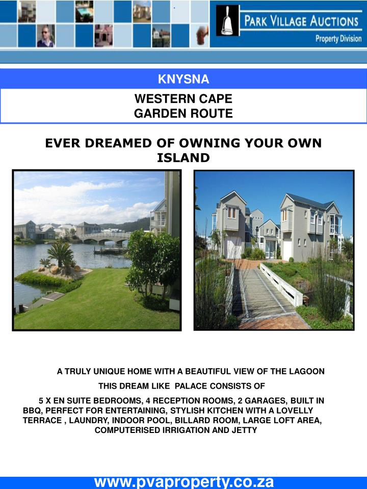 EVER DREAMED OF OWNING YOUR OWN ISLAND