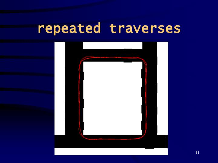 repeated traverses