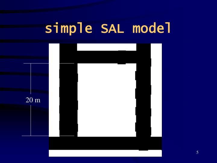 simple SAL model