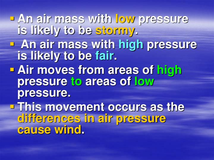 An air mass with