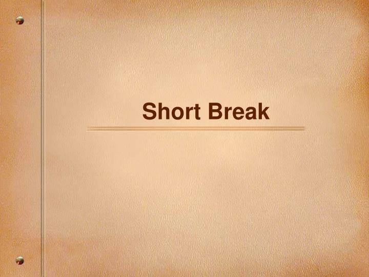 Short Break