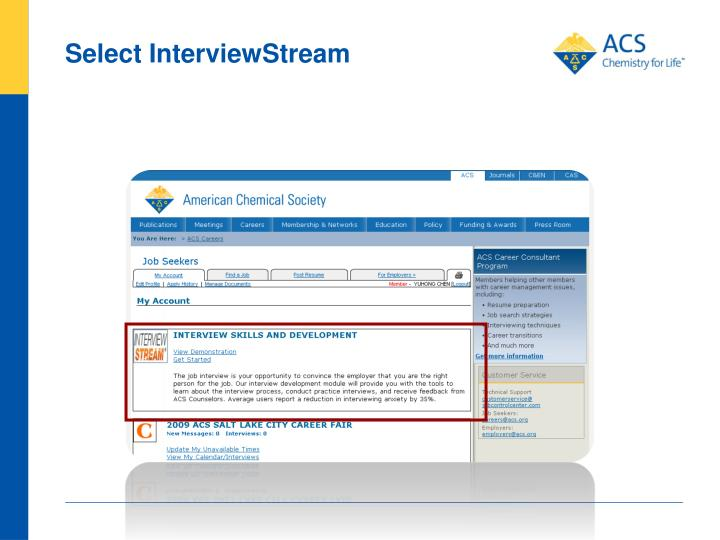 Select InterviewStream