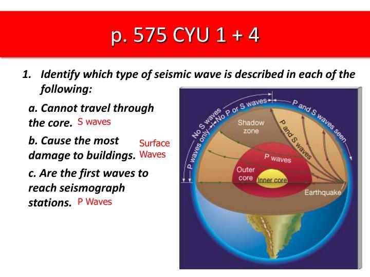 p. 575 CYU 1 + 4
