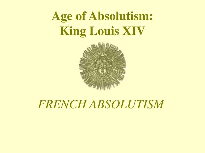 an essay on absolutism jean bodin and bishop bossuet