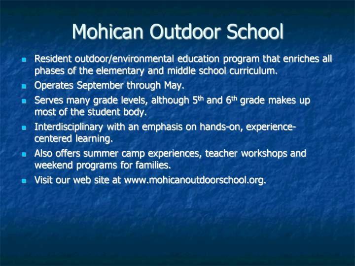 Mohican Outdoor School