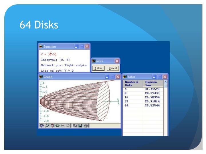 64 Disks