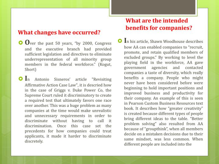 What are the intended benefits for companies?