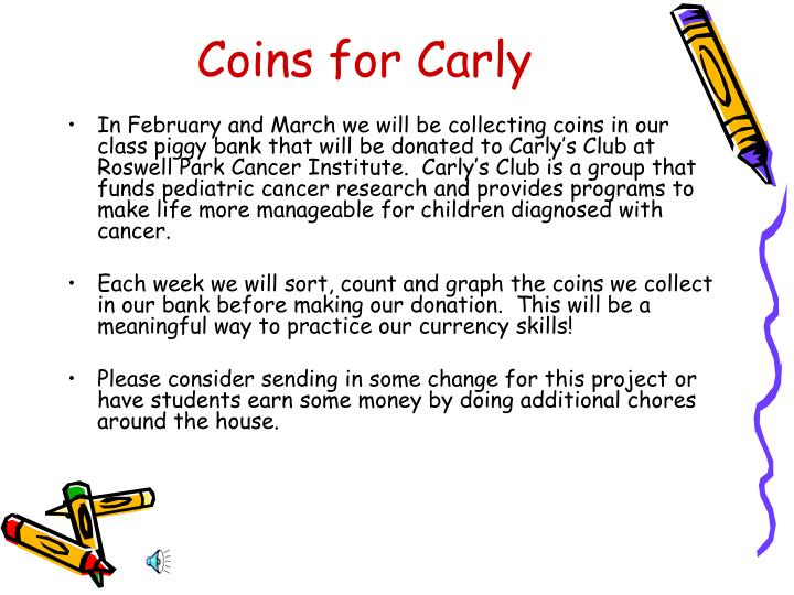 Coins for Carly