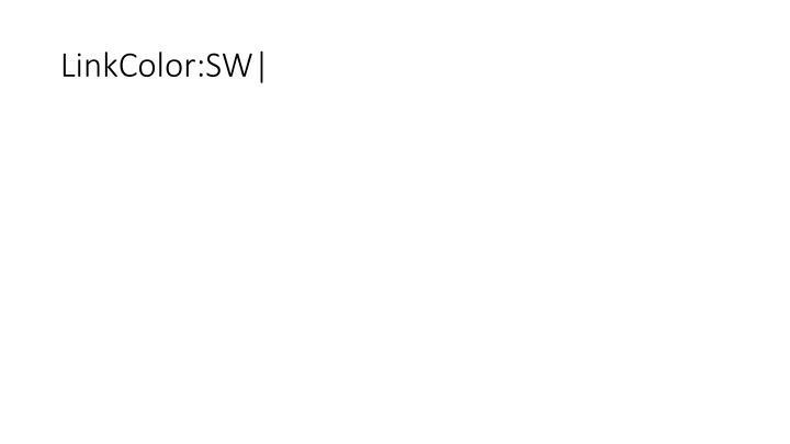 LinkColor:SW|