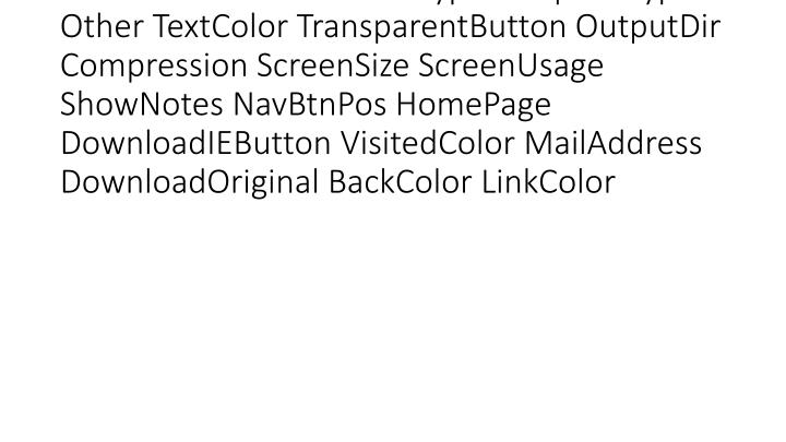 vti_cachedcustomprops:VX|GraphicType UseBrowserColor ButtonType TemplateType Other TextColor TransparentButton OutputDir Compression ScreenSize ScreenUsage ShowNotes NavBtnPos HomePage DownloadIEButton VisitedColor MailAddress DownloadOriginal BackColor LinkColor