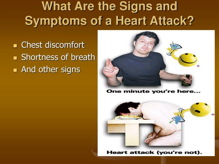 What Are the Signs and Symptoms of a Heart Attack?