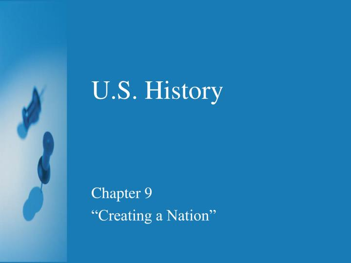 ch 1 creating a nation