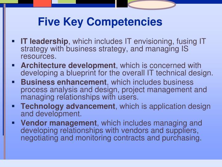 Five Key Competencies