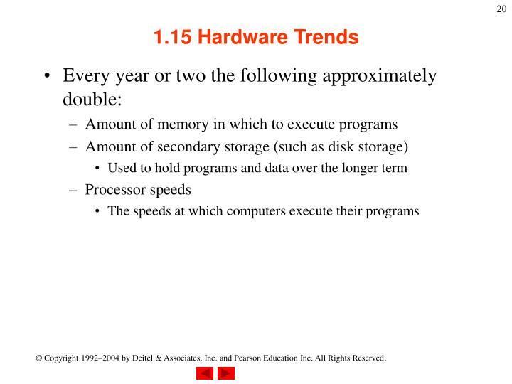1.15 Hardware Trends