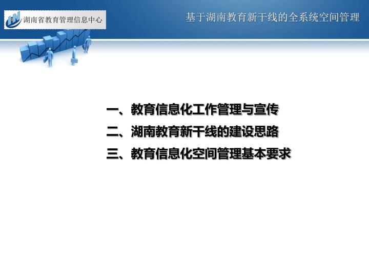 基于湖南教育新干线的全系统空间管理