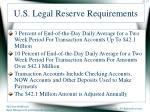 u s legal reserve requirements