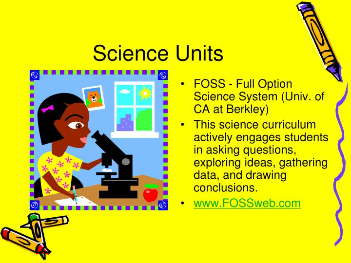 Science Units