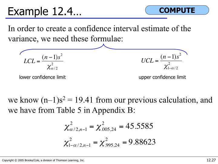 Example 12.4…