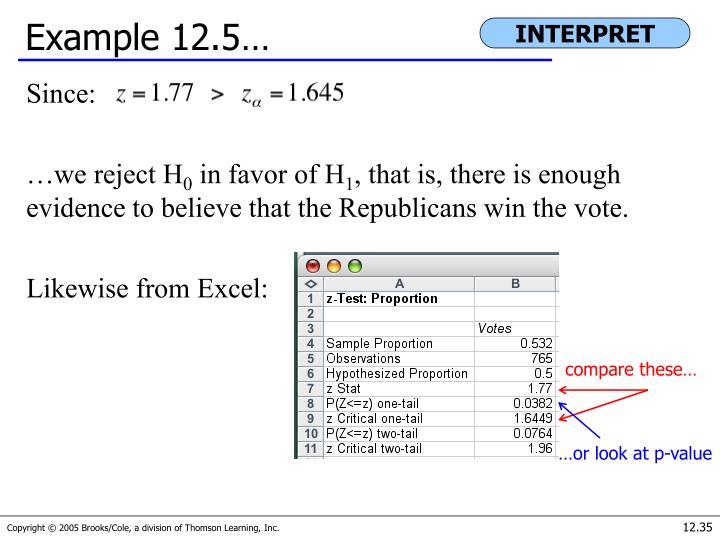 Example 12.5…