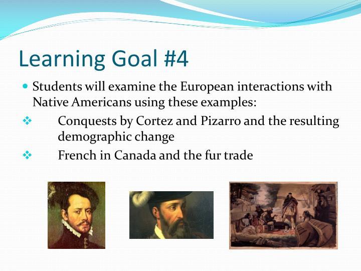Learning Goal #4