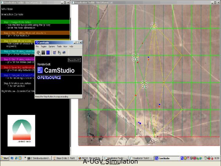 A-UGV Simulation