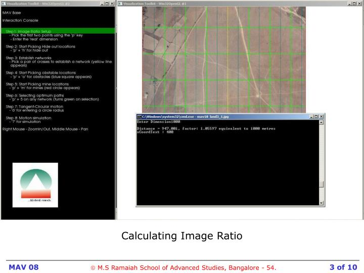 Calculating Image Ratio