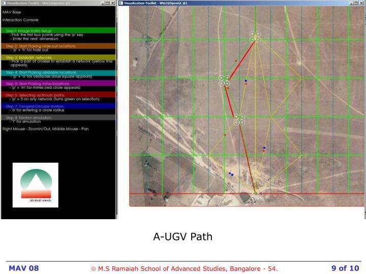 A-UGV Path