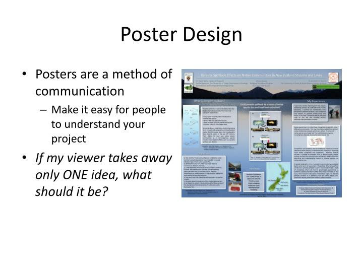 Poster presentation templates for powerpoint