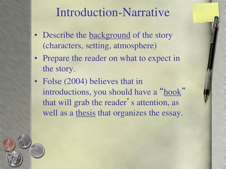 Introduction-Narrative