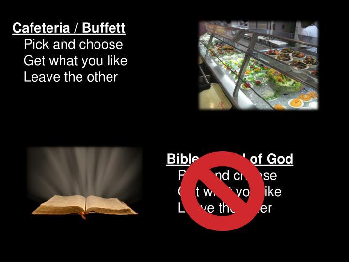 Cafeteria / Buffett
