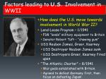 factors leading to u s involvement in wwii1