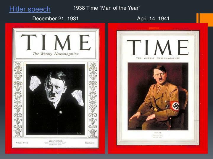 Hitler speech