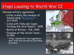 steps leading to world war ii3