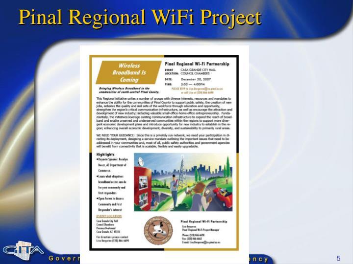 Pinal Regional WiFi Project