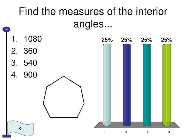 Find the measures of the interior angles
