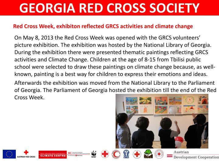 GEORGIA RED CROSS SOCIETY