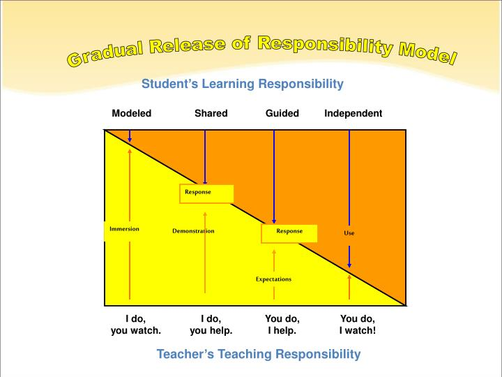 Gradual Release of Responsibility Model