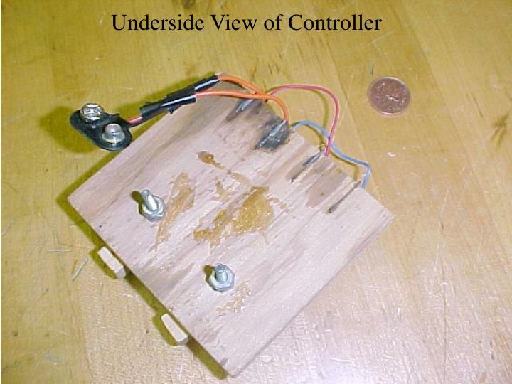 Underside View of Controller