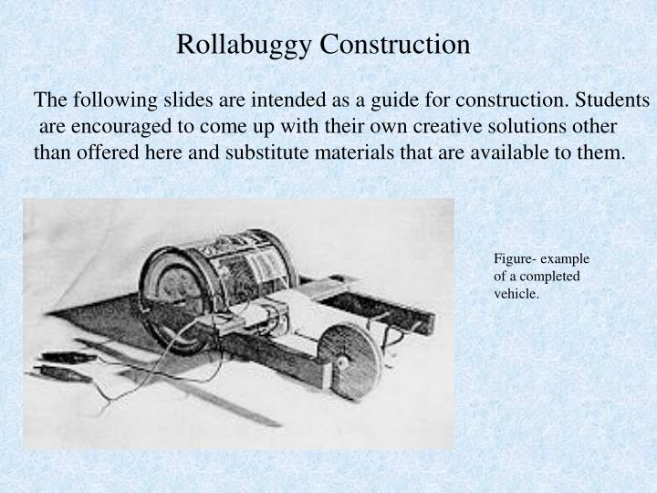 Rollabuggy Construction