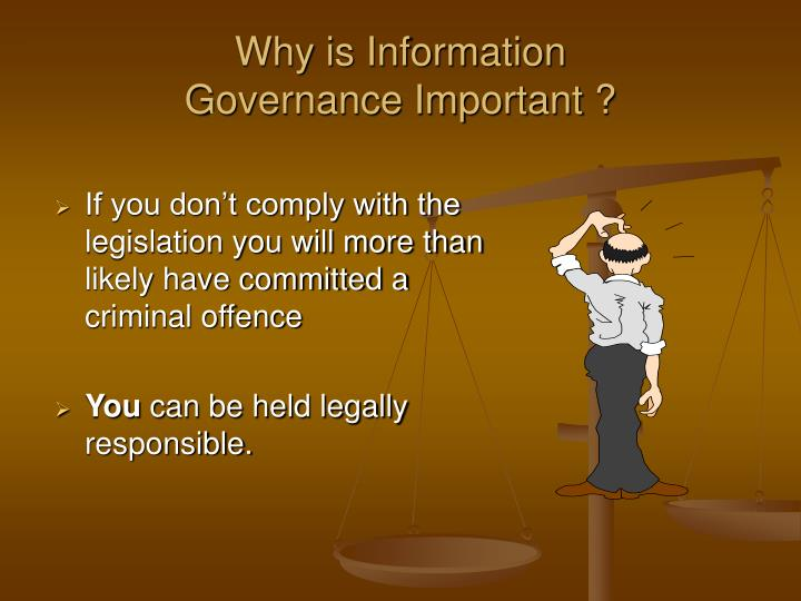 Why is information governance important