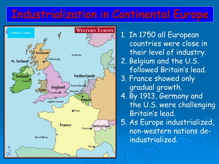 Industrialization in Continental Europe