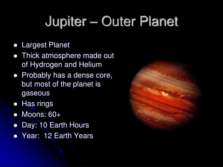 is jupiter a inner or outer planet - photo #13