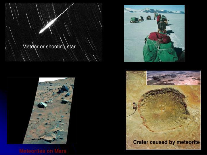 Meteor or shooting star